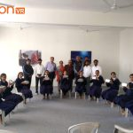 Virtual Reality Classroom at Sainik School in Ganpat University by fotonVR