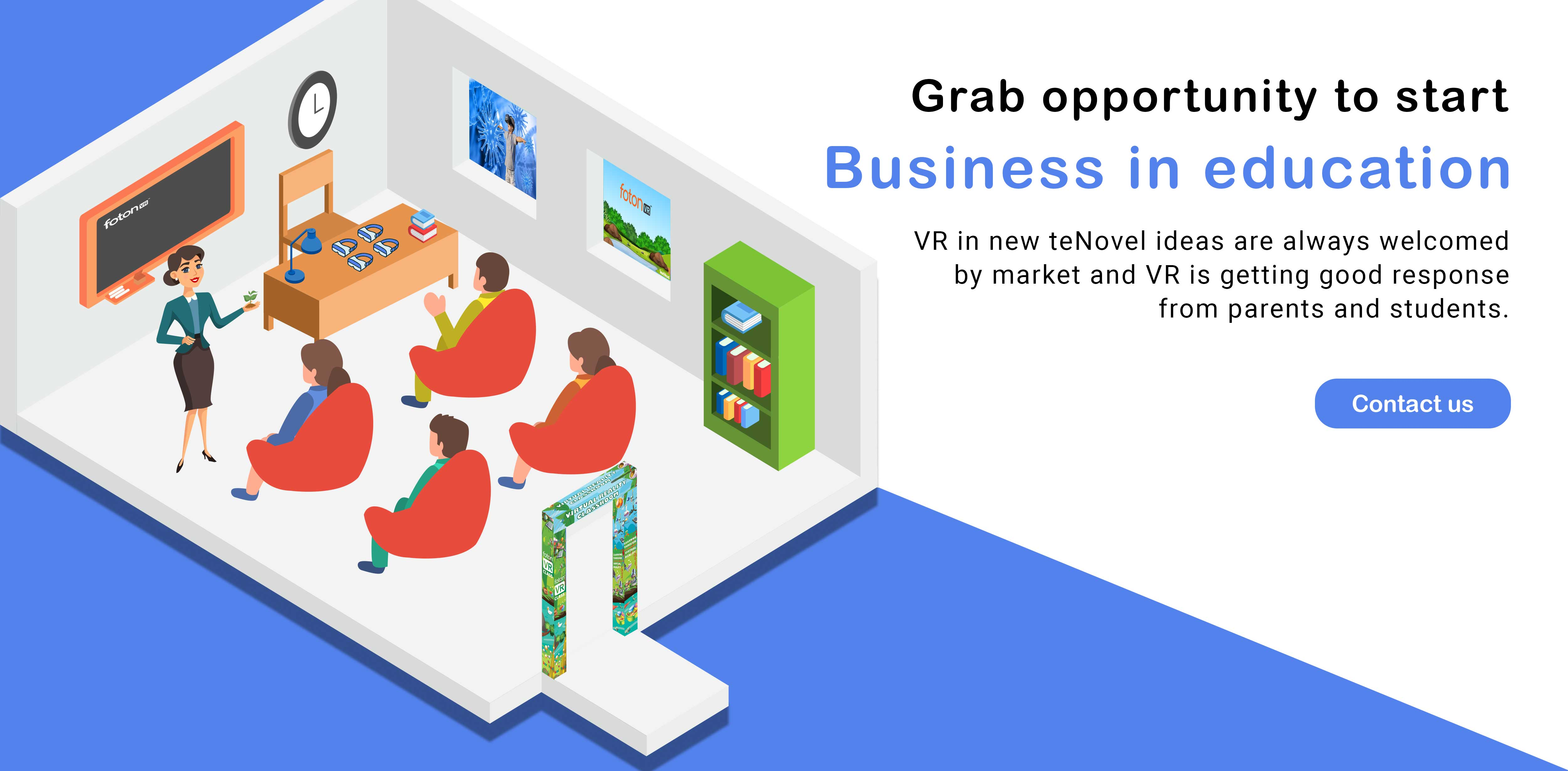 fotonvr business in education
