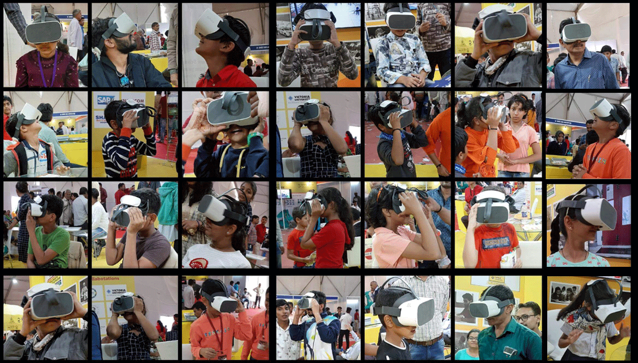 Is Virtual Reality headset harmful to the eyes