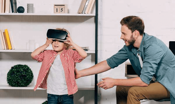 VIRTUAL REALITY LEARNING HAS PARENTAL CONTROL