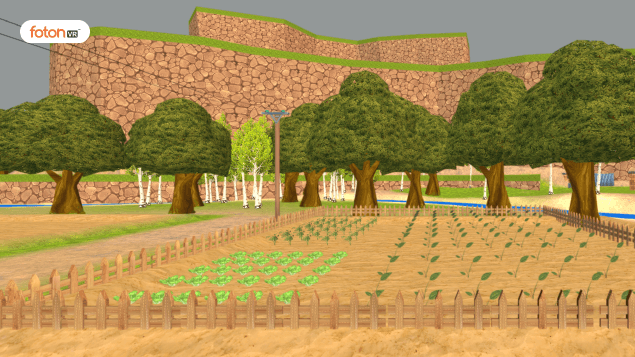 VR Virtual Tour For Std. 5 Ch. 19: A Seed tells a Farmer's Story
