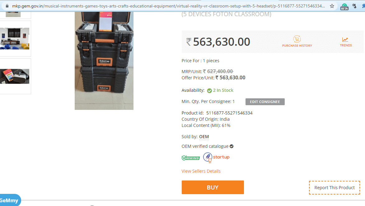 buy fotonvr kit