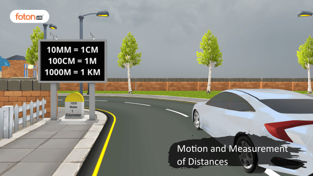 A Virtual Tour of Chapter 10 Motion and Measurement of Distances