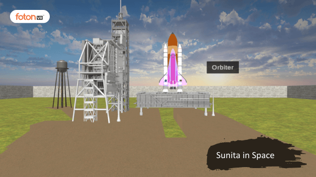 A Virtual Tour of Chapter 11 Sunita in Space