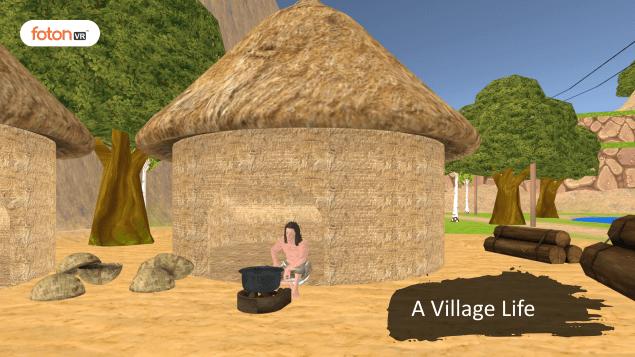 Virtual tour 1 A Village Life