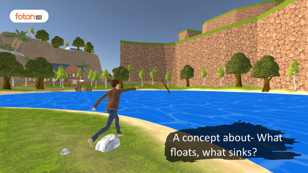 Virtual tour 1 A concept about- What floats, what sinks