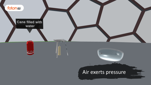 Virtual tour 1 Air exerts pressure