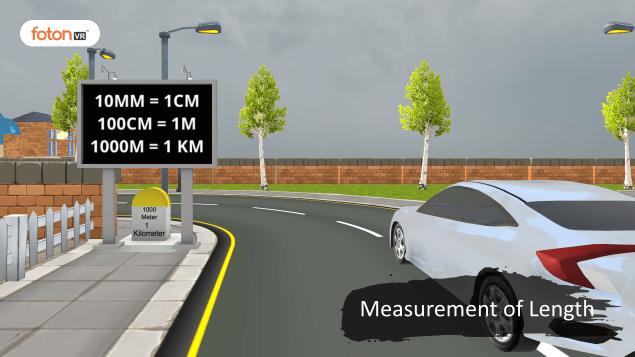 Virtual tour 1 Measurement of Length