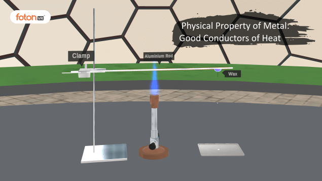 Virtual tour 1 Physical Property of Metal Good Conductors of Heat