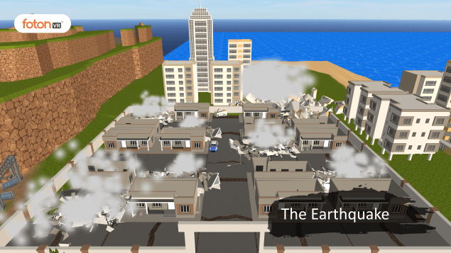 Virtual tour 1 The Earthquake