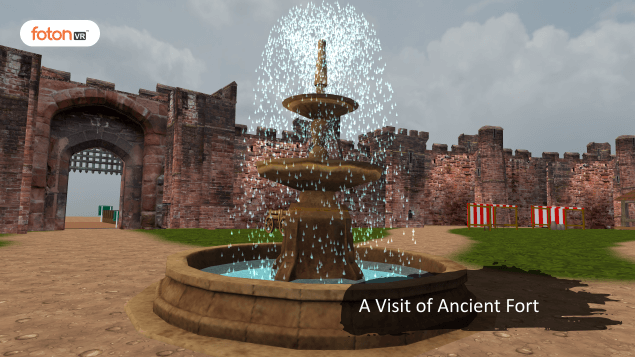 Virtual tour 1 Visit to Ancient fort