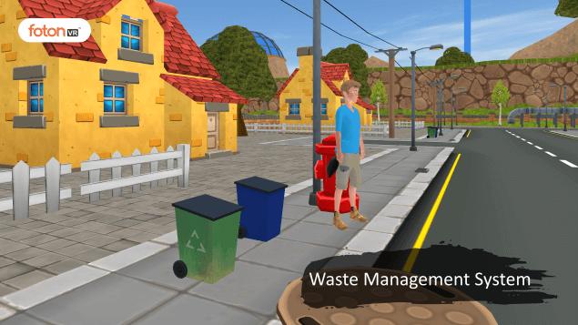 Virtual tour 1 Waste Management System