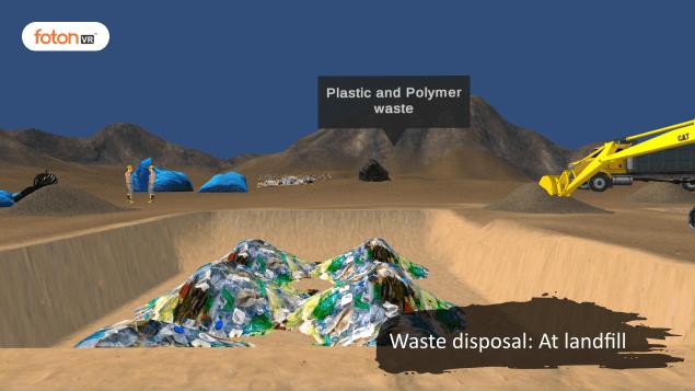 Virtual tour 1 Waste disposal At landfill