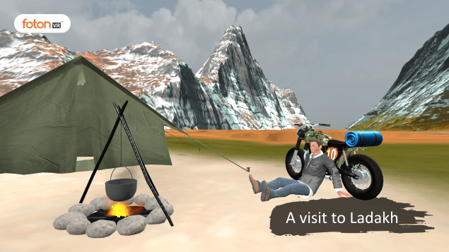 Virtual tour 2 A visit to Ladakh