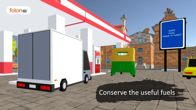 Virtual tour 2 Conserve the useful fuels