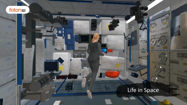 Virtual tour 2 Life in Space