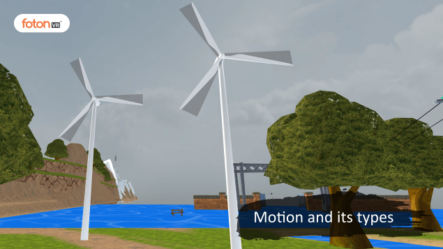 Virtual tour 2 Motion and its types