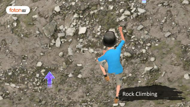 Virtual tour 2 Rock Climbing