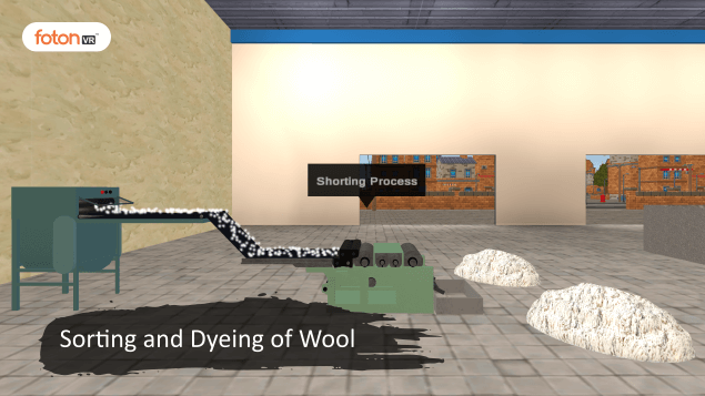 Virtual tour 2 Sorting and Dyeing of Wool