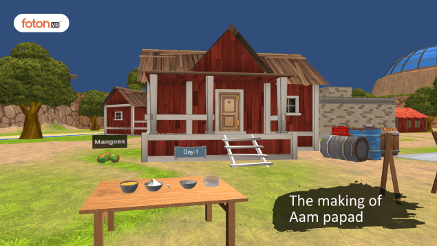 Virtual tour 2 The making of Aam papad