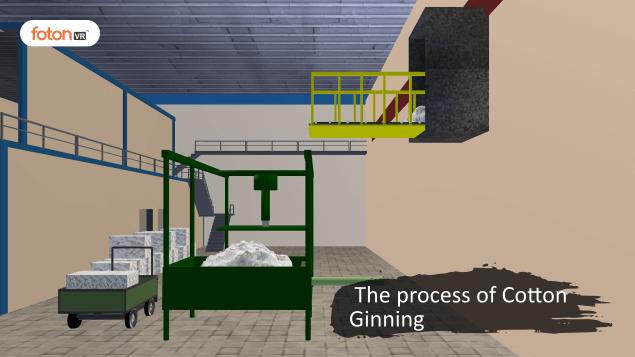 Virtual tour 2 The process of Cotton Ginning