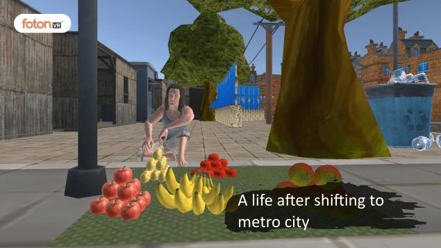 Virtual tour 3 A life after shifting to metro city