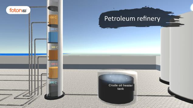 Virtual tour 3 Petroleum refinery