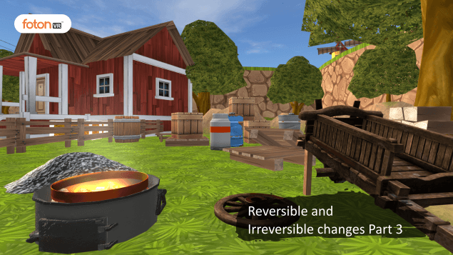 Virtual tour 3 Reversible and Irreversible changes Part 3
