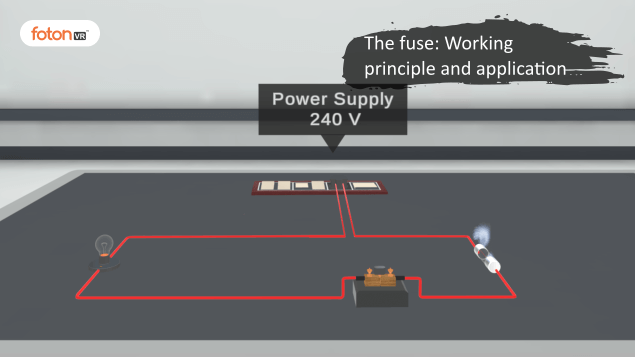 Virtual tour 4 The fuse Working principle and application