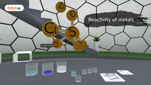 Virtual tour 5 Reactivity of metals