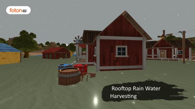 Virtual tour 5 Rooftop Rain Water Harvesting