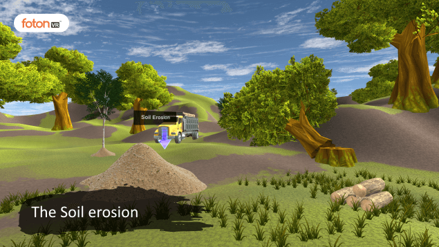 Virtual tour 5 The Soil erosion