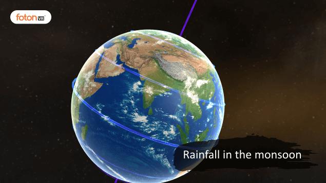 Virtual tour 6 Rainfall in the monsoon