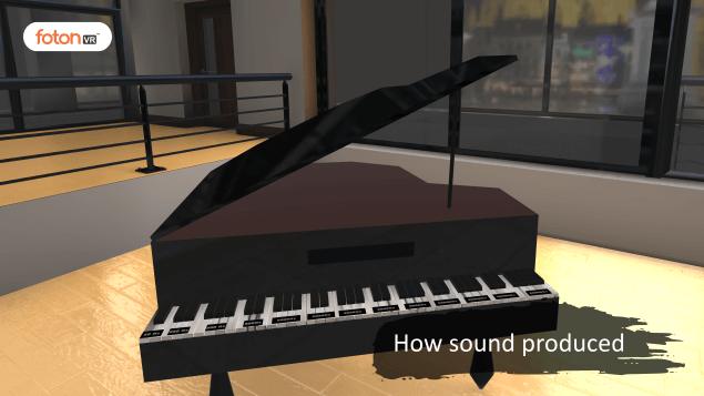 Virtual tour 1 How sound produced