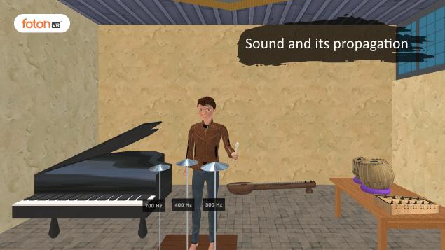 Virtual tour 1 Sound and its propagation
