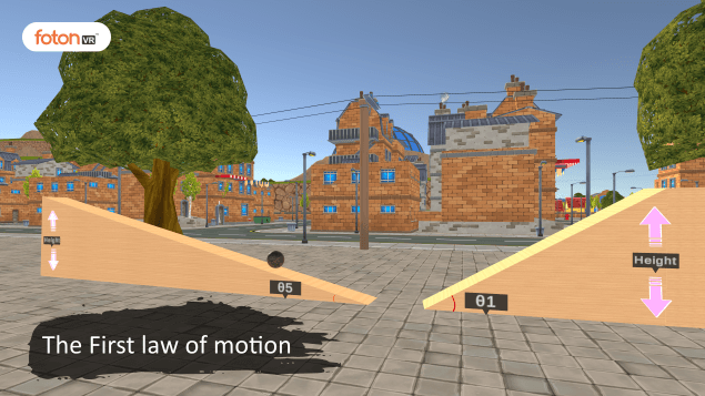 Virtual tour 2 The First law of motion