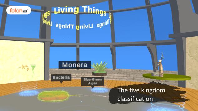Virtual tour 2 The five kingdom classification