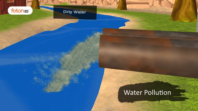 Virtual tour 2 Water Pollution