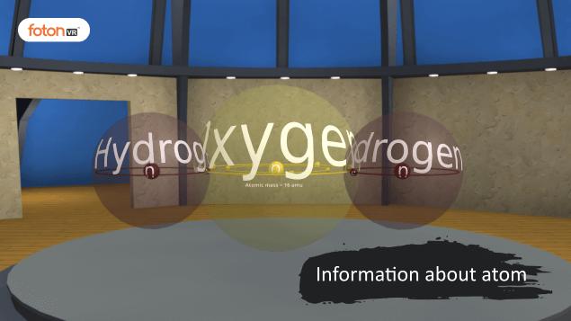 Virtual tour 3 Information about atom