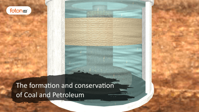 Virtual tour 3 The formation and conservation of Coal and Petroleum