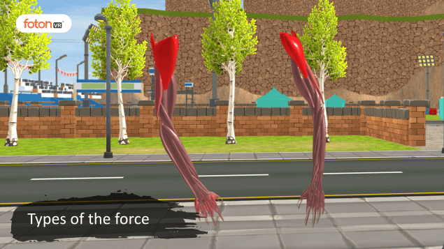 Virtual tour 3 Types of the force