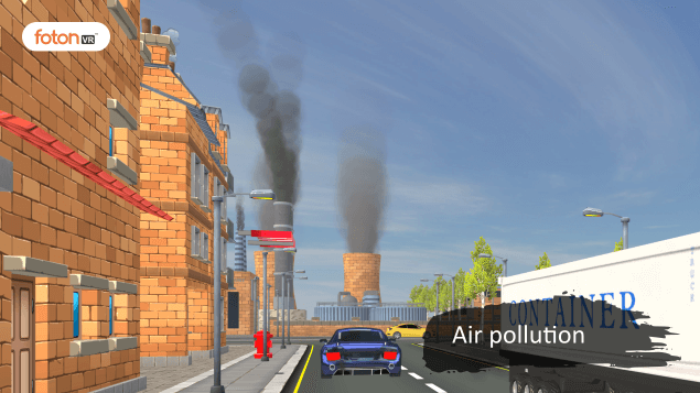 Virtual tour 4 Air pollution