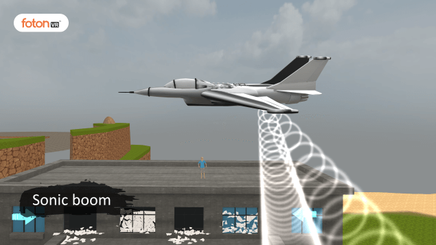 Virtual tour 4 Sonic boom