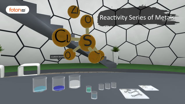 Virtual tour 5 Reactivity Series of Metals
