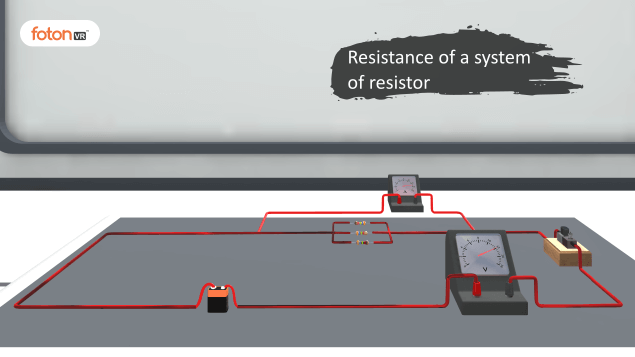 Virtual tour 5 Resistance of a system of resistor