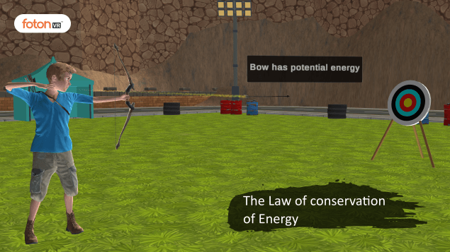 Virtual tour 5 The Law of conservation of Energy