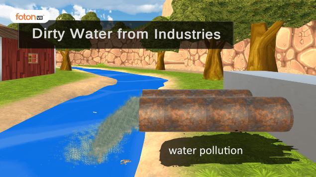 Virtual tour 5 water pollution