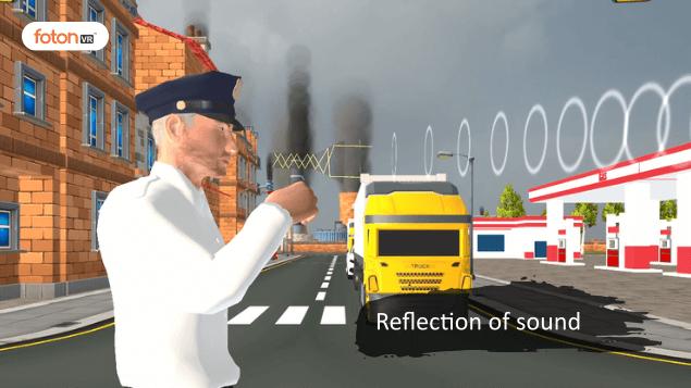 Virtual tour 7 Reflection of sound
