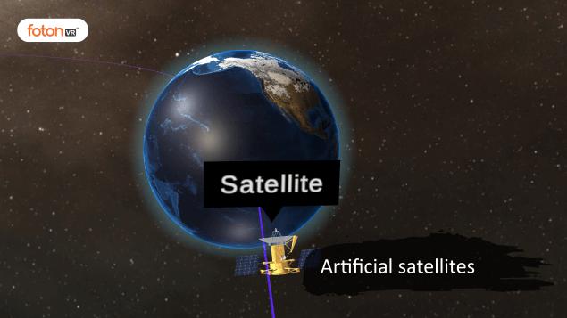 Virtual tour 8 Artificial satellites