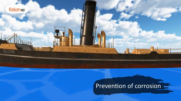 Virtual tour 8 Prevention of corrosion